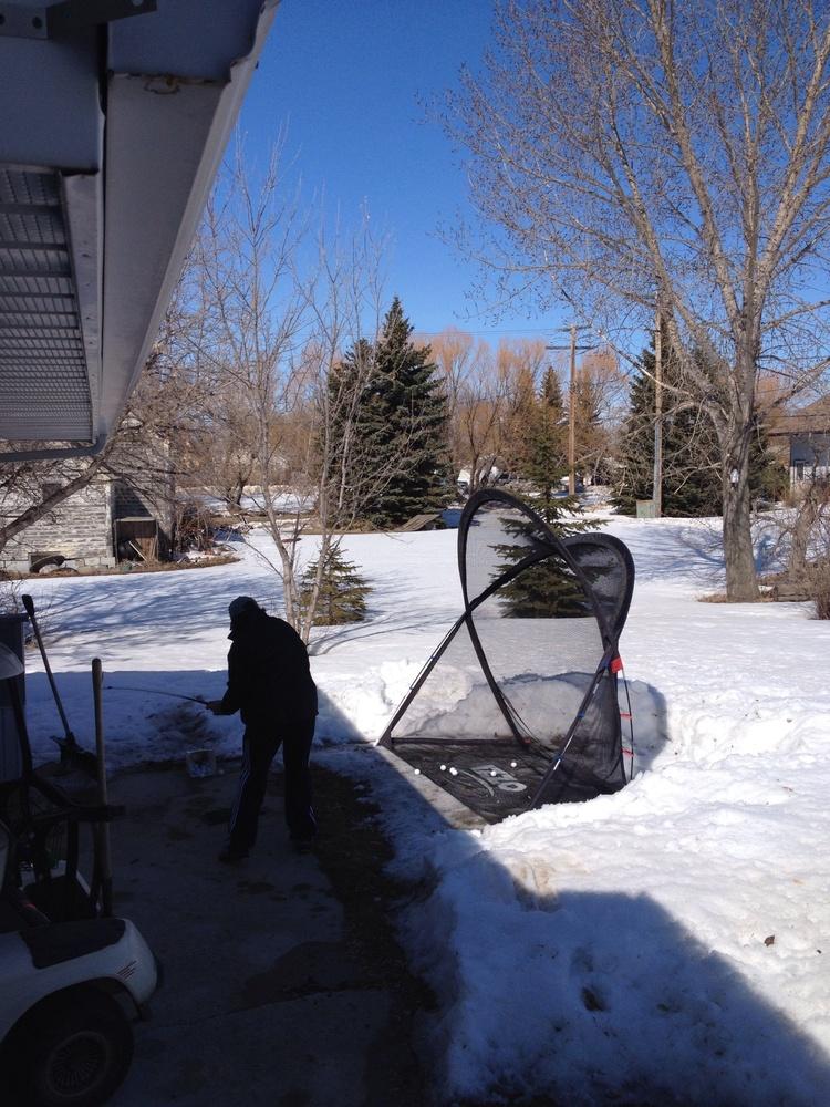 snowgolf
