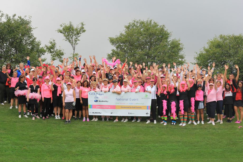 Golf Fore the Cure National Event 2015
