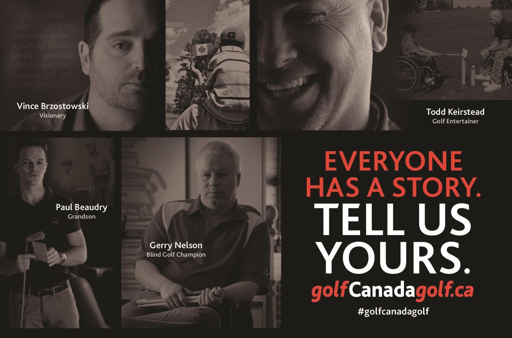 Golf Canada-#GolfCanadaGolf Campaign