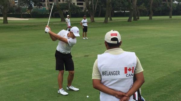 Team Canada - Charles-Éric Bélanger