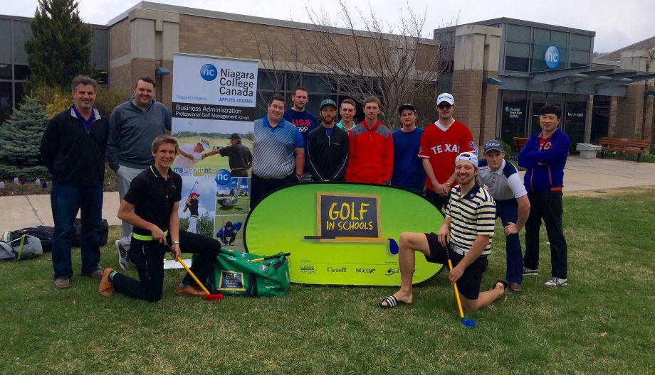 Golf in Schools - Niagara College