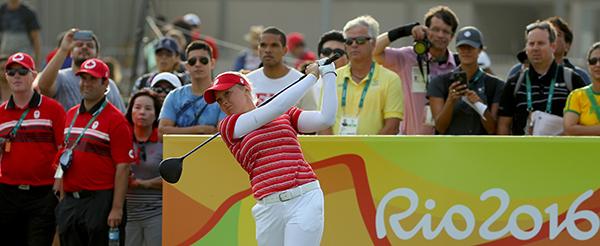Golf - Olympics: Day 15