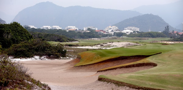 Hole 3 at the Olympic Golf Course (Matthew Stockman/Getty Images)