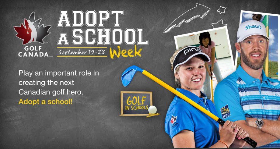 Golf Canada's Adopt a School Week - Golf in Schools