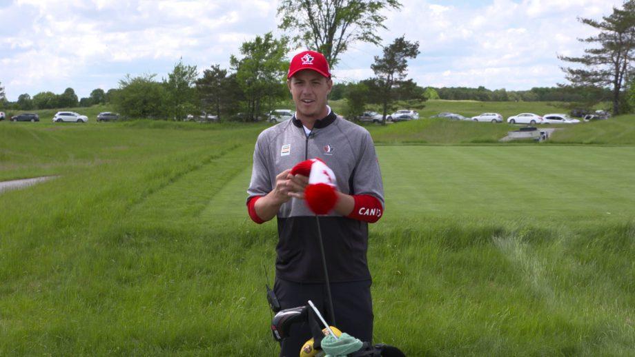 What's in the bag - Hugo Bernard - Team Canada