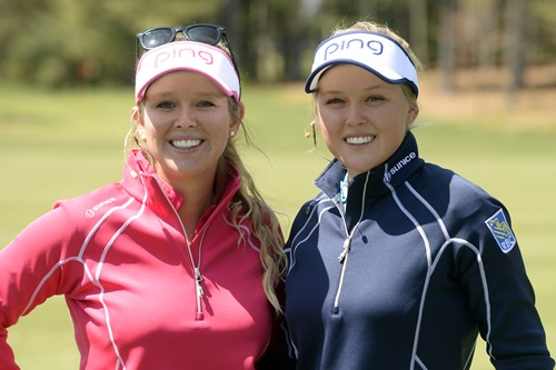 Brittany and Brooke Henderson (Golf Canada/ Bernard Brault)