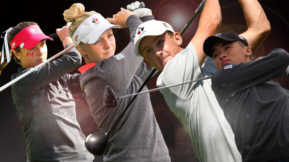 Golf Canada - Order of Merit 2016 winners