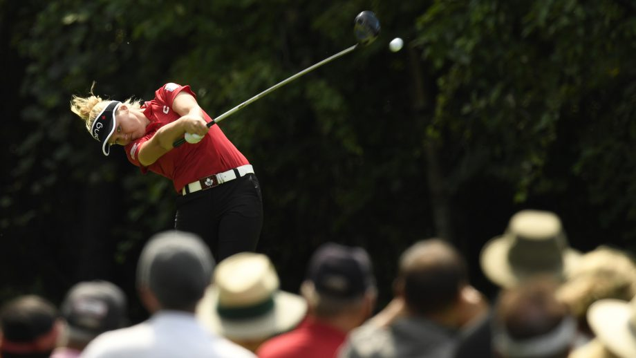 Brooke Henderson at the CP Women's Open