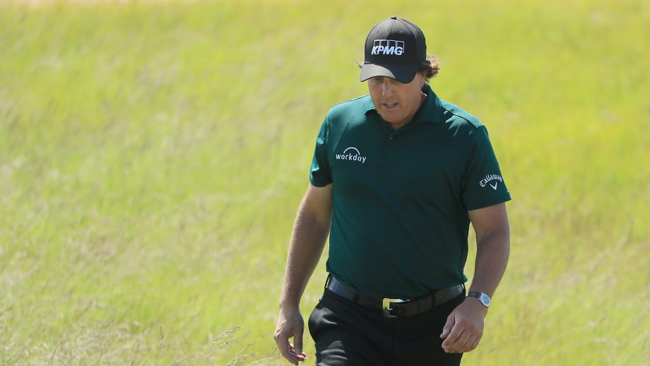Phil Mickelson at the 2018 U.S. Open