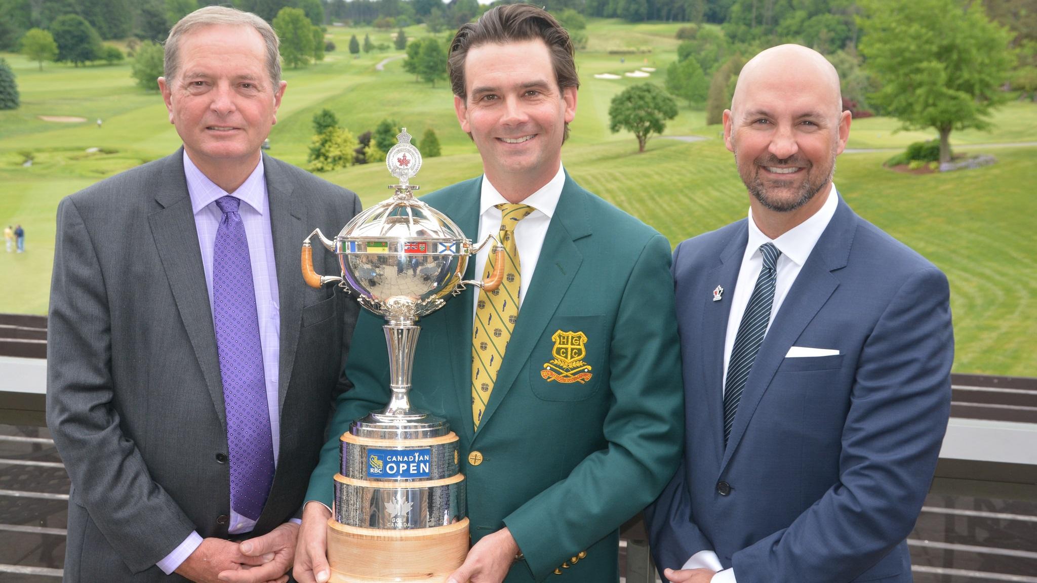 rbc canadian open trophy hamilton