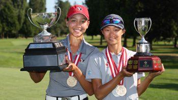 Celeste Dao (L) and Emily Zhu