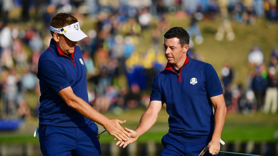Ian Poulter, Rory McIlroy