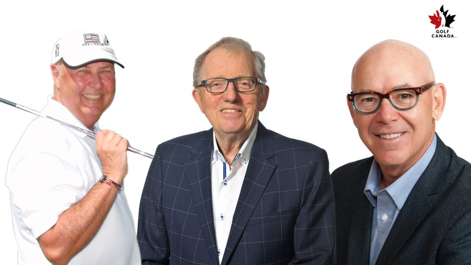 2018 Golf Canada Distinguished Service Award Winners