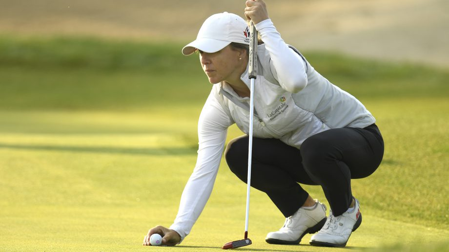 Anne-Catherine Tanguay, Canadian golfer