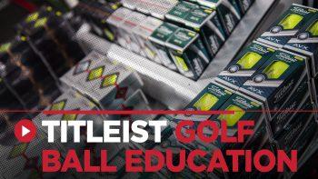 Titleist Golf Ball Education