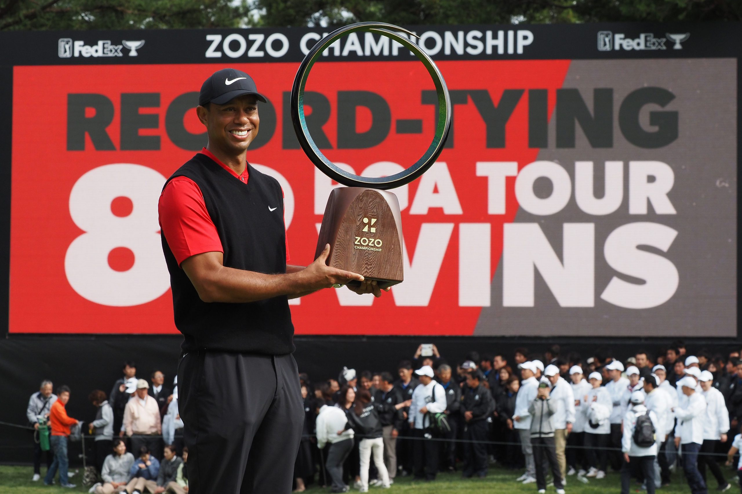 Tiger Woods captures 82nd PGA TOUR victory