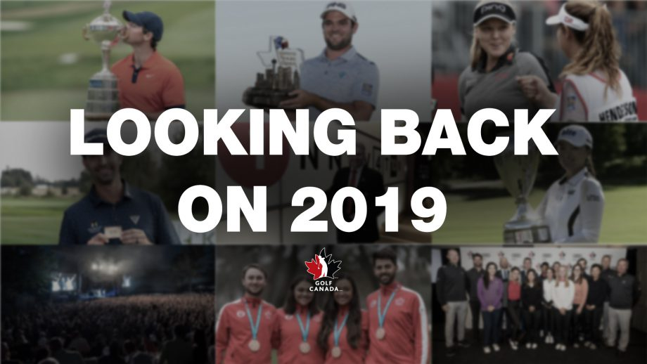 Looking back on 2019 in Canadian golf