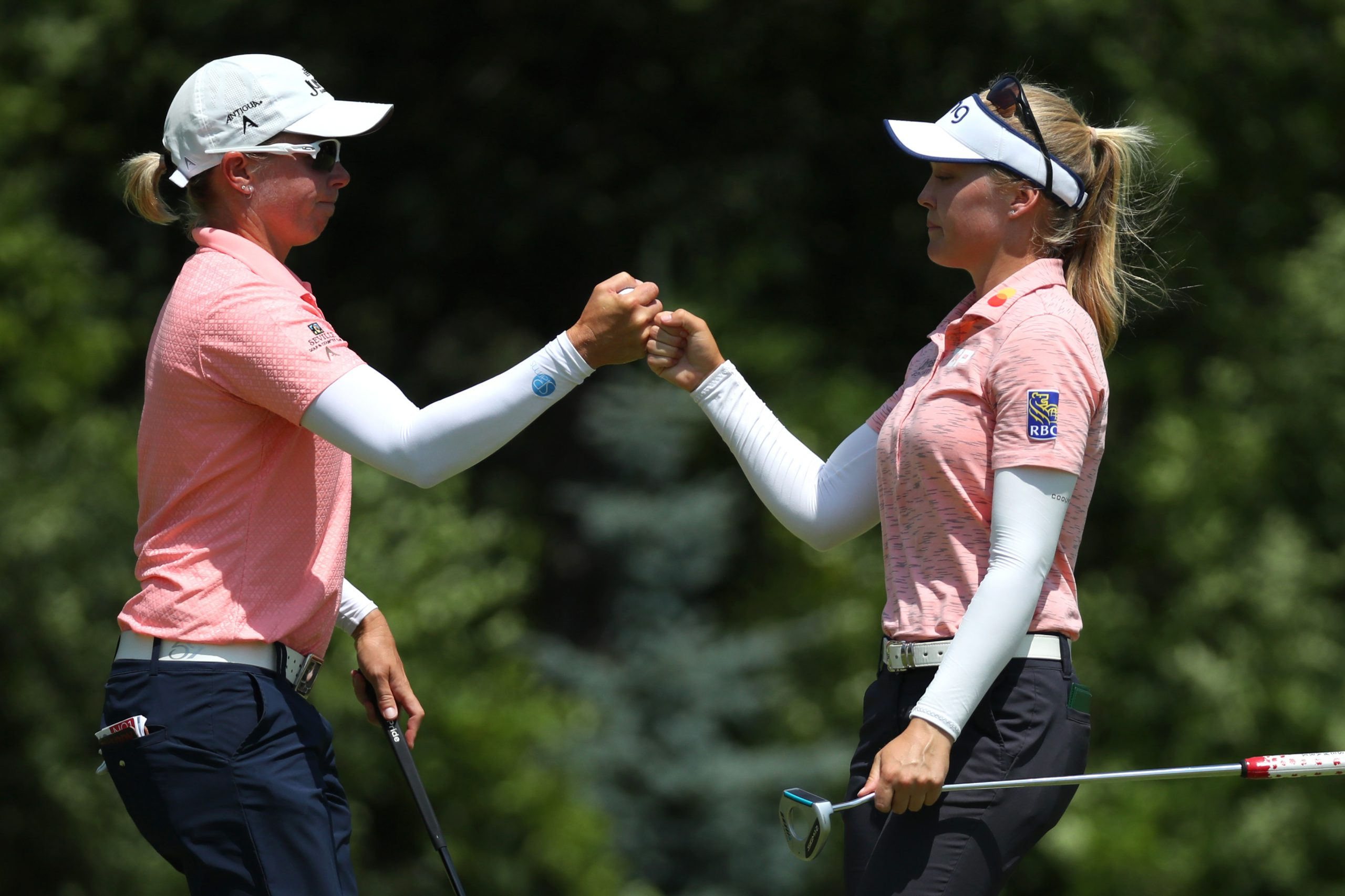Alena Sharp, Brooke Henderson