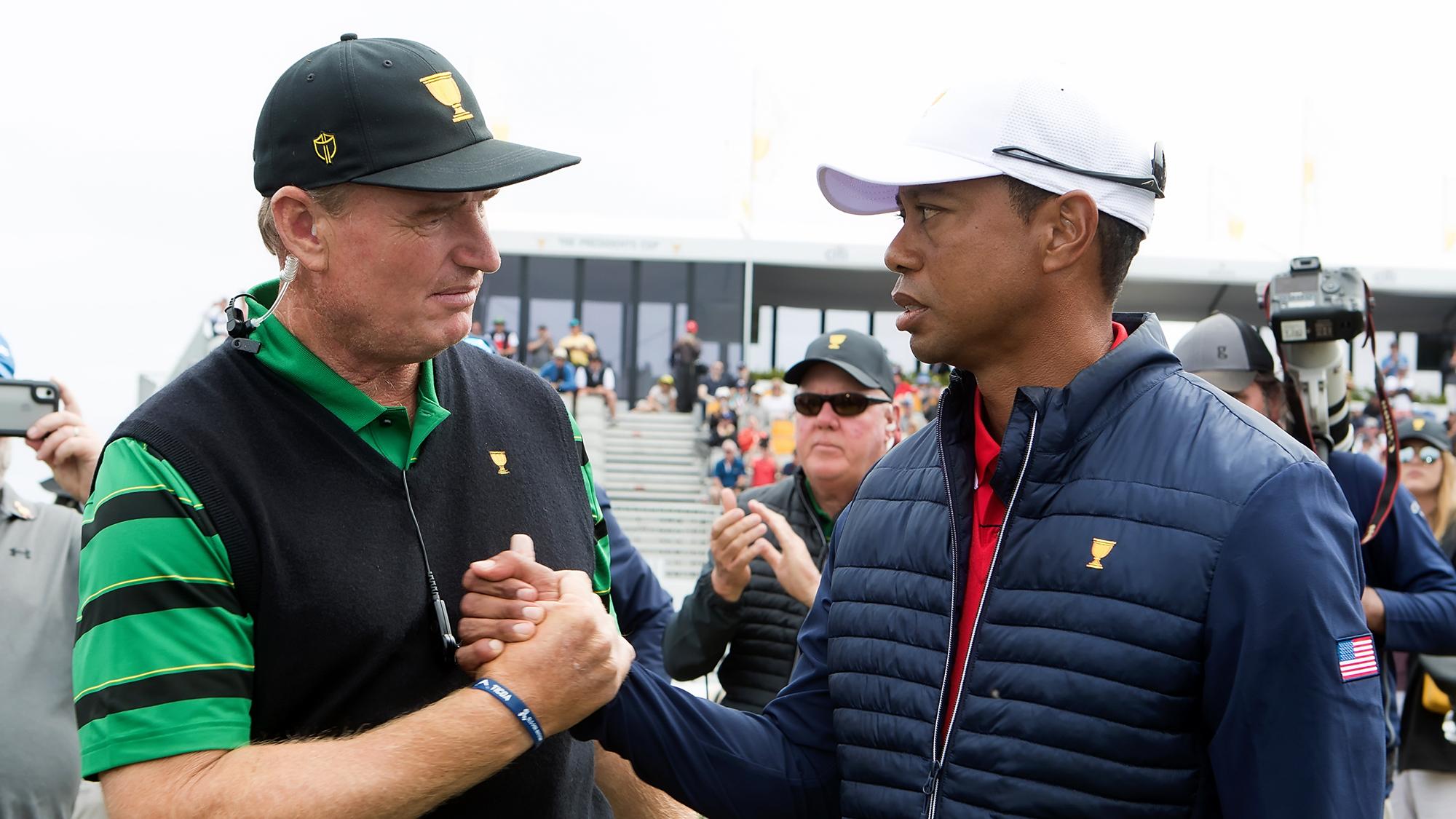 Ernie Els, Tiger Woods
