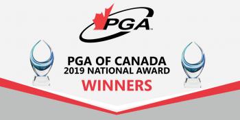 PGA of Canada award winners