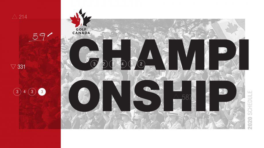 Golf Canada Championships 2020