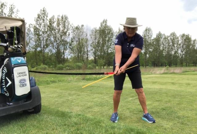 Denise Lavigne Golf Tip