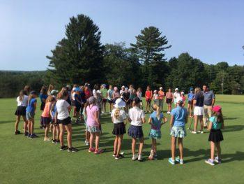 Junior girls golf