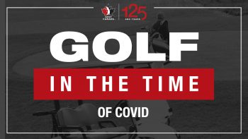 Golf in the time of Covid