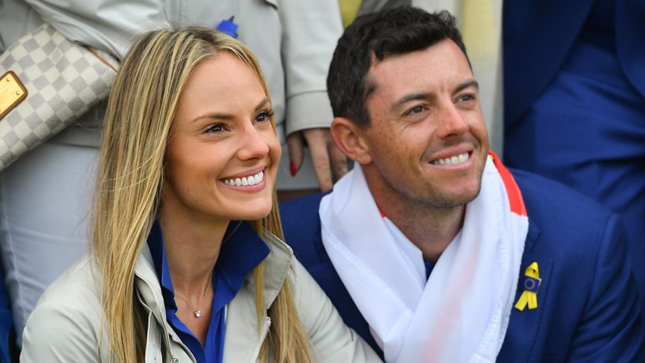 Erica and Rory McIlroy (Getty Images)
