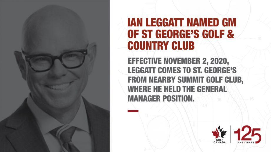 Ian Leggatt St Georges