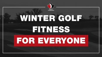 Winter golf fitness