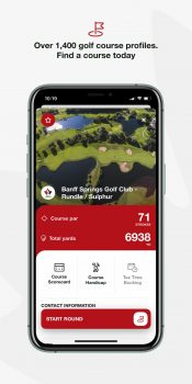 Golf Canada App: Find A Course