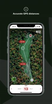 Golf Canada App Features