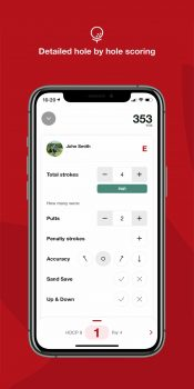 Golf Canada App Features Detailed Hole Scoring