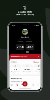 Golf Canada App Features Detailed Stats and Scoring History