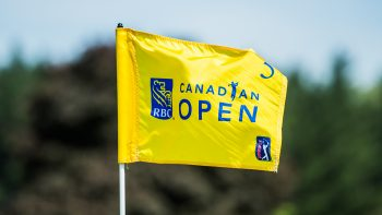 RBC Canadian Open pin flag