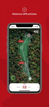Appli de Golf Canada - distances GPS précises