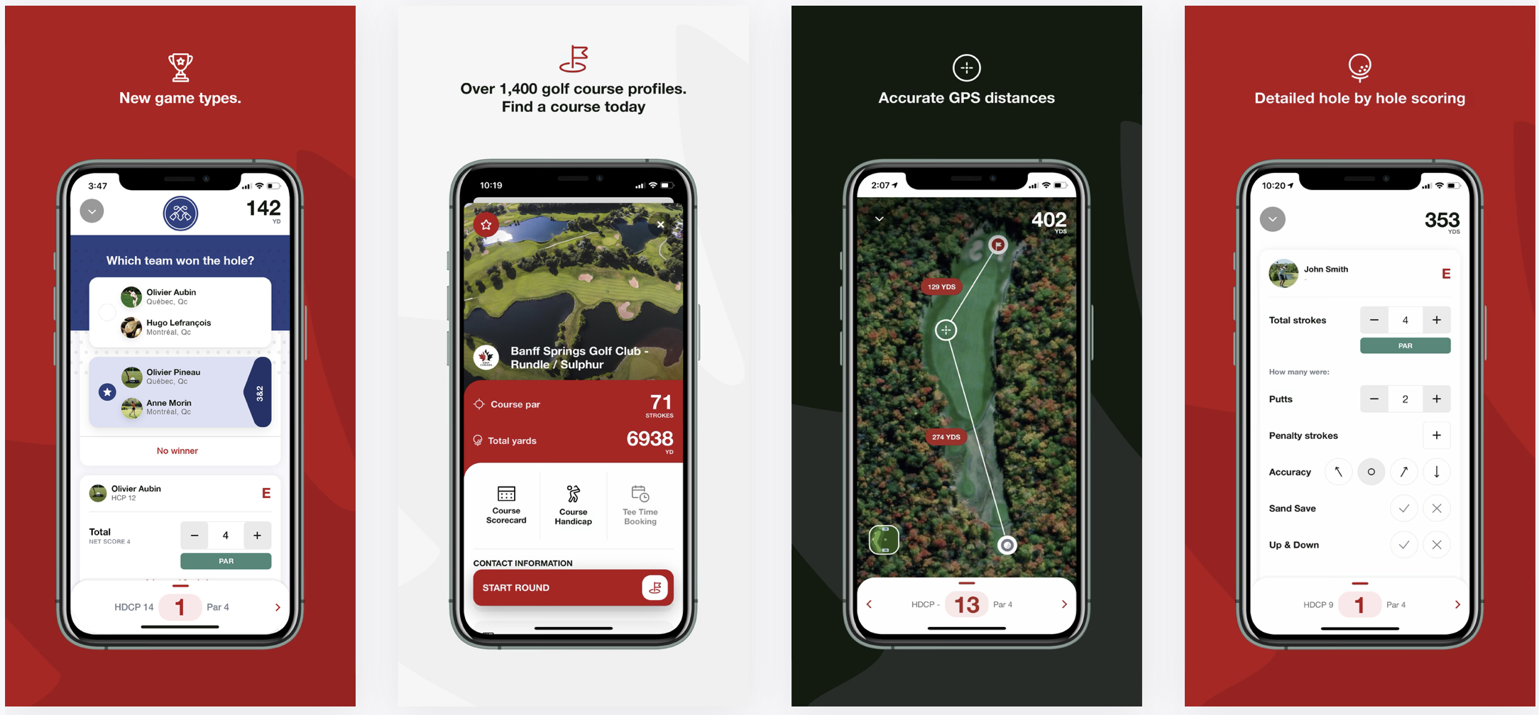Golf Canada App