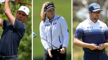 Mike Weir, Brooke Henderson, Corey Conners