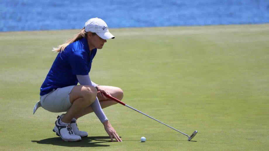 Un petit coup de trop pour Maude-Aimée, au second rang à nouveau - Golf  Canada