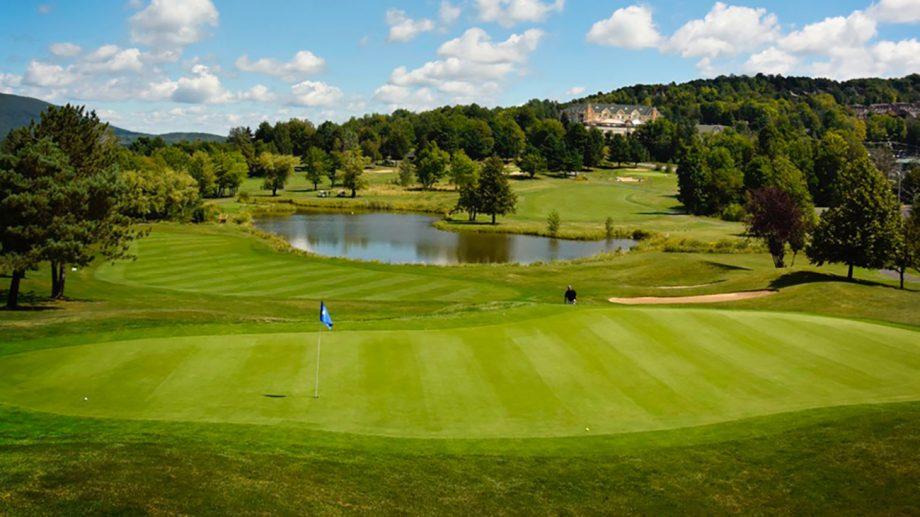 Le club de golf Château Bromont