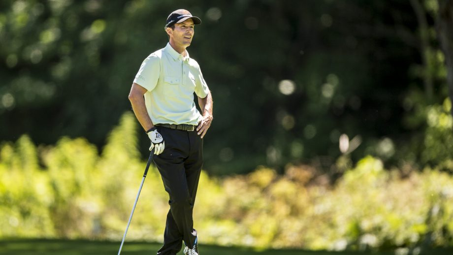 Mike Weir on the golf course
